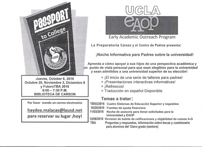 Passport to College Spanish
